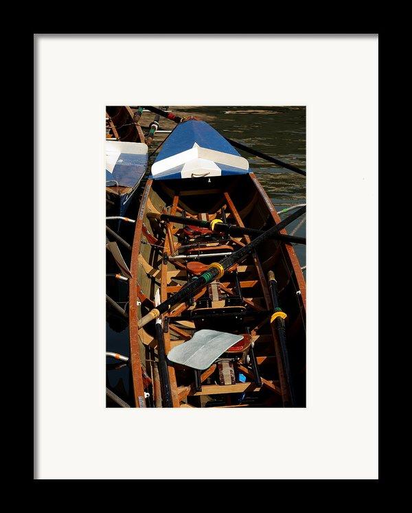Inside Sail Boat Framed Print By Michael Henderson