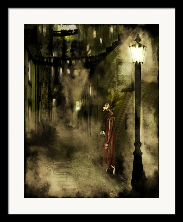 Inspector Hook Framed Print By Mandem