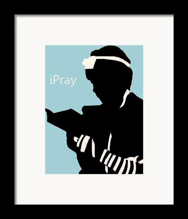 Ipray Framed Print By Anshie Kagan