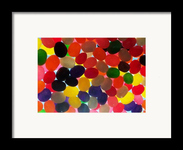 Jellybeans Framed Print By Anna Villarreal Garbis