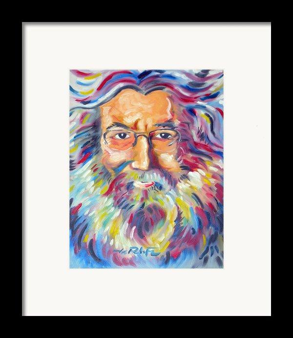 Jerry Garcia Framed Print By Joseph Palotas
