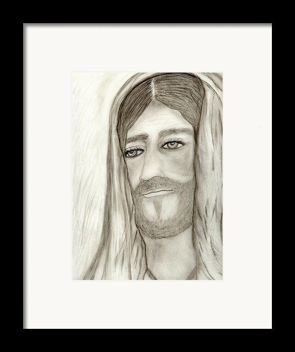Jesus Framed Print By Sonya Chalmers