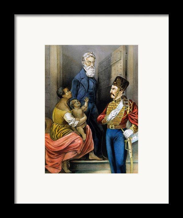 John Brown (1800-1859) Framed Print By Granger