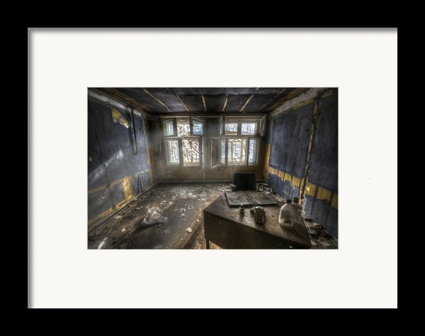 Just Another Day In The Office Framed Print By Nathan Wright