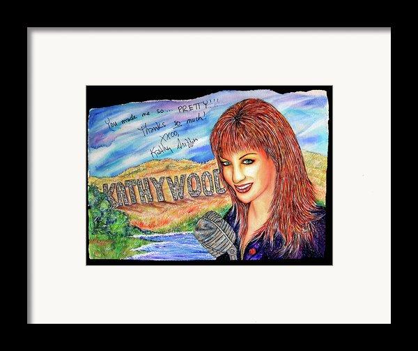 Kathywood Framed Print By Joseph Lawrence Vasile