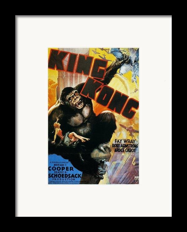 King Kong Poster, 1933 Framed Print By Granger