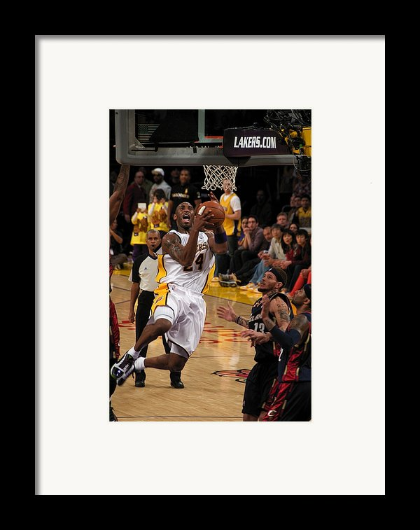 Kobe Framed Print By Marc Bittan