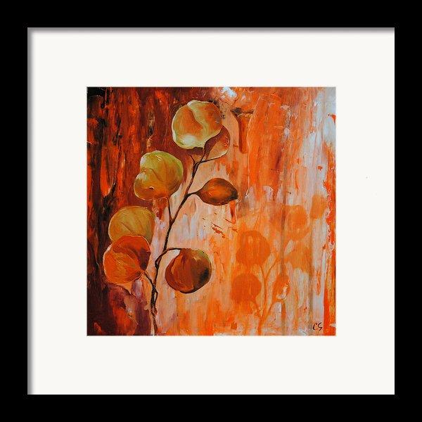 Leaves1 Framed Print By Chris Steinken