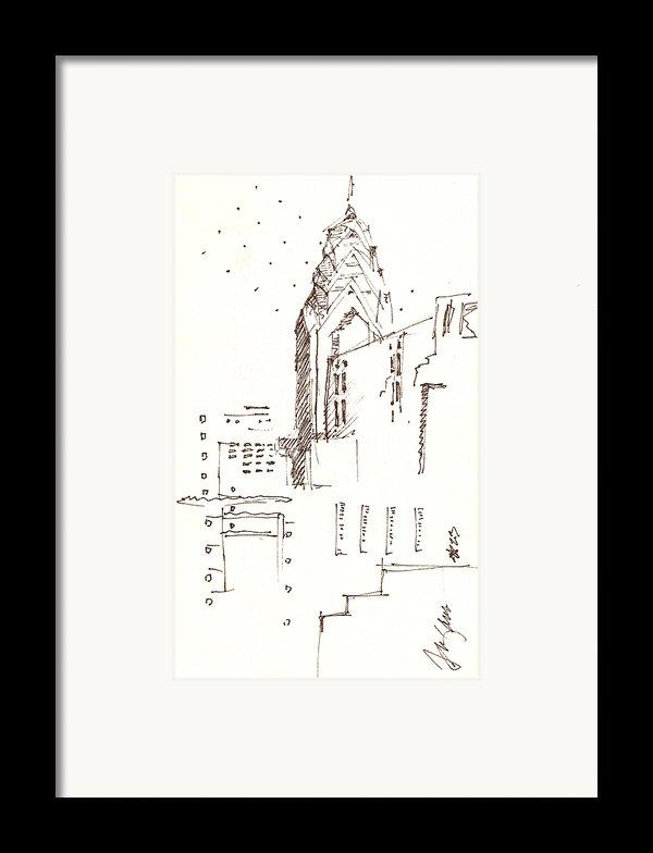 Liberty Place Philadelphia Framed Print By Donna Frizano Leonetti