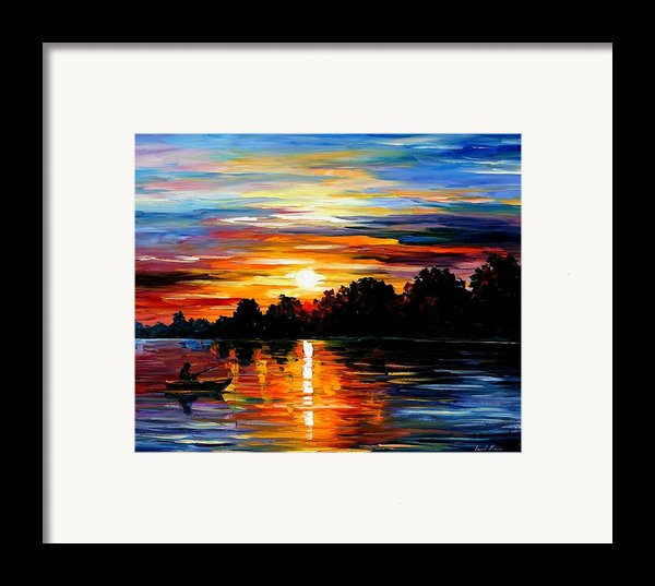 Life Memories Framed Print By Leonid Afremov