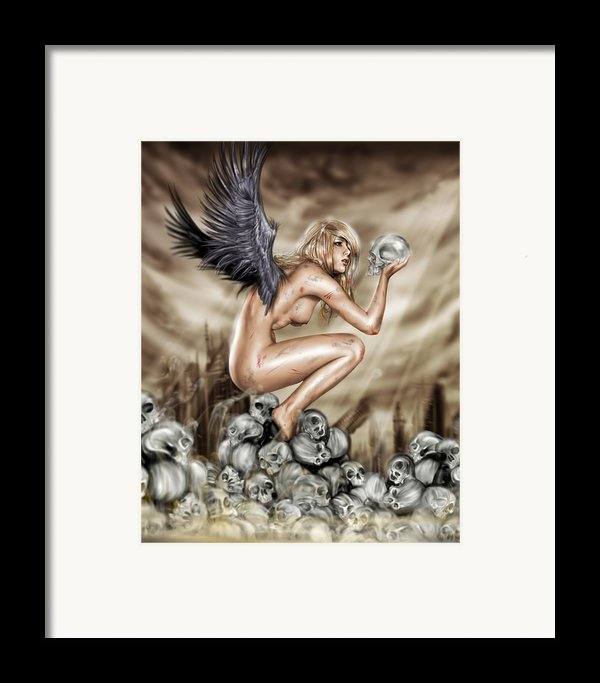 Lifting The Veil Framed Print By Pete Tapang