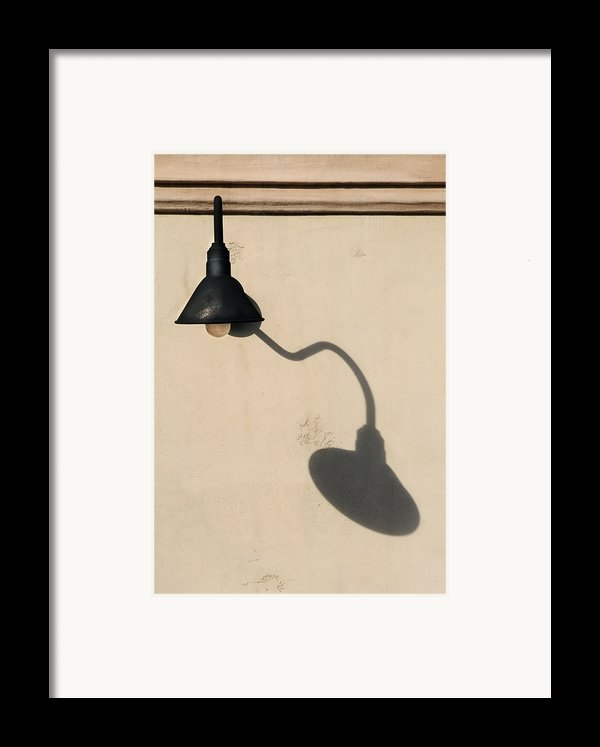 Light Angle Framed Print By Dan Holm