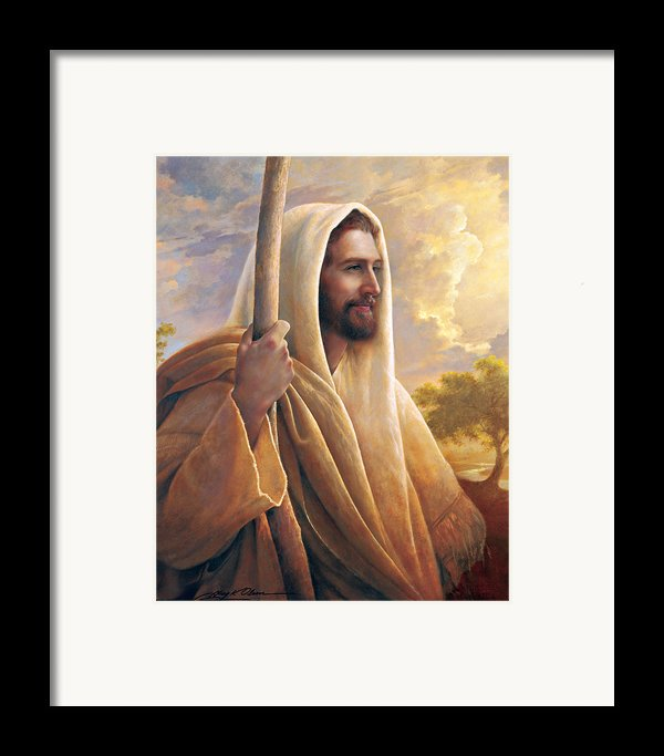 Light Of The World Framed Print By Greg Olsen