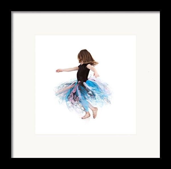 Little Ballerina Framed Print By Cindy Singleton