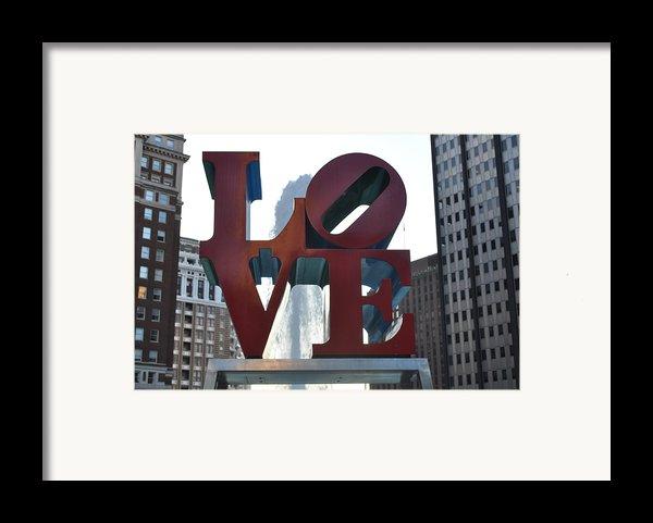 Love Framed Print By Brynn Ditsche