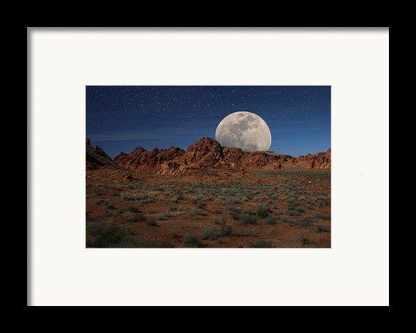 Lunacy Iii Framed Print By Charles Warren