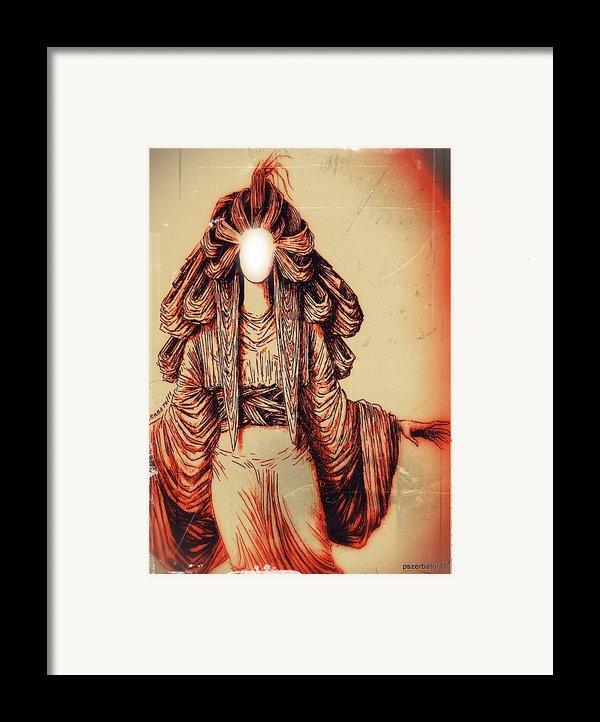 Luz Framed Print By Paulo Zerbato