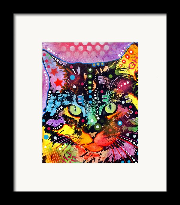 Maine Coon Framed Print By Dean Russo