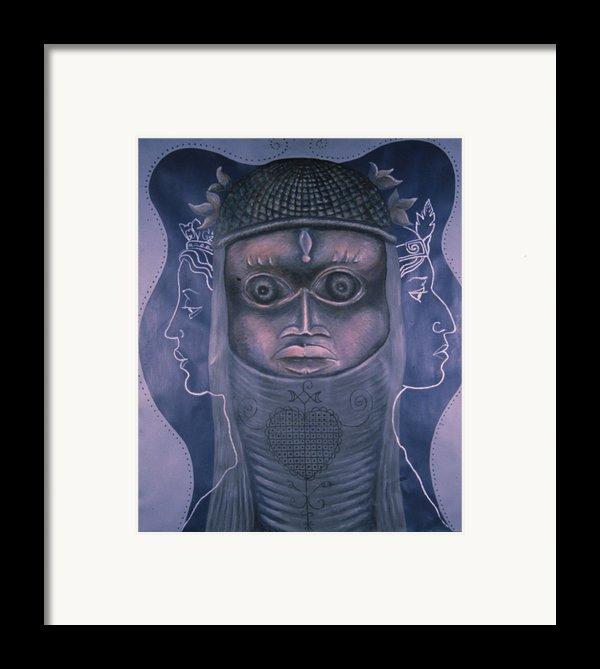 Maitresses Framed Print By Barbara Nesin