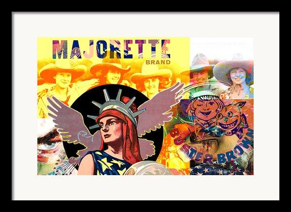 Majorette Framed Print By Robert Anderson
