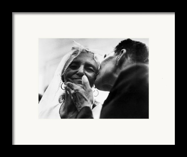 Marrying At 100 Framed Print By Granger