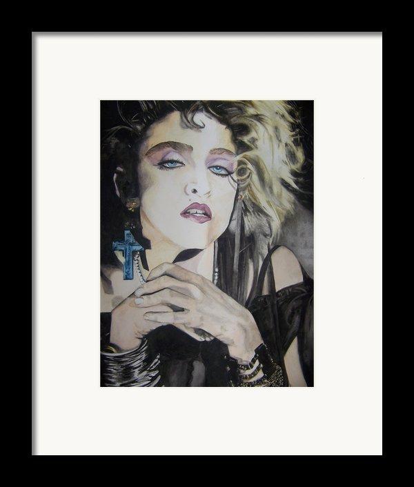 Material Girl Framed Print By Lance Gebhardt
