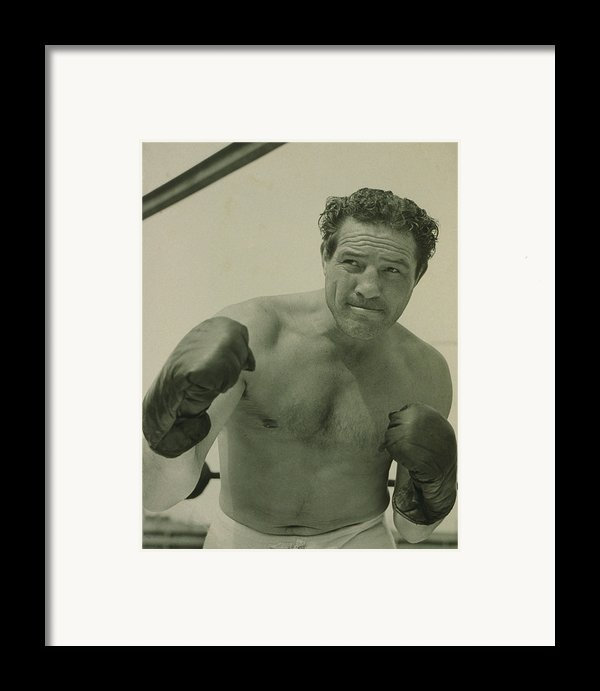 Max Baer 1909-1959, One-time Framed Print By Everett