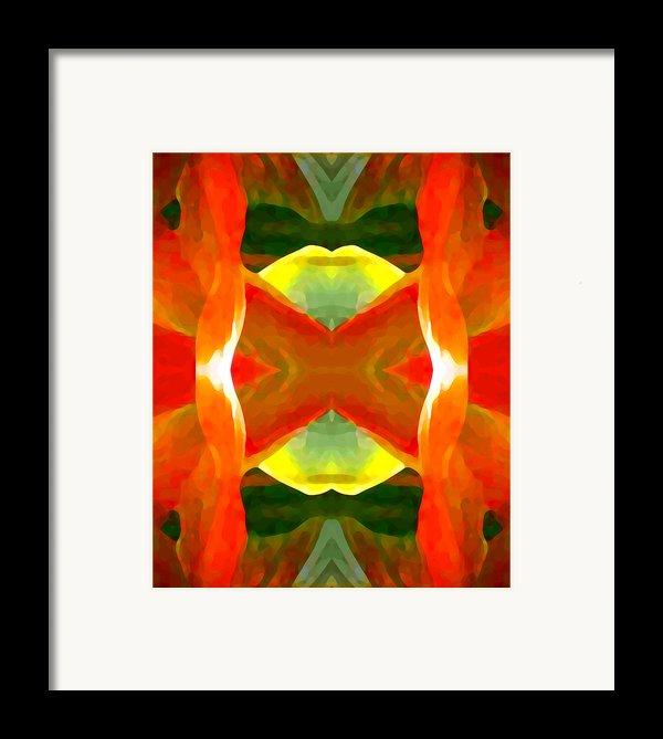 Meditation Framed Print By Amy Vangsgard