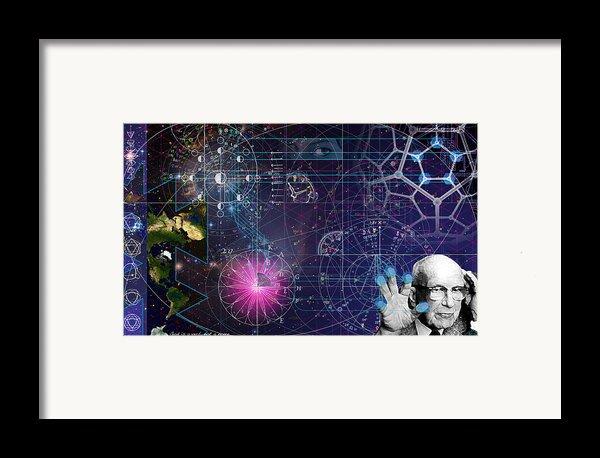 Metaphysical Gravity Framed Print By Kenneth Johnson
