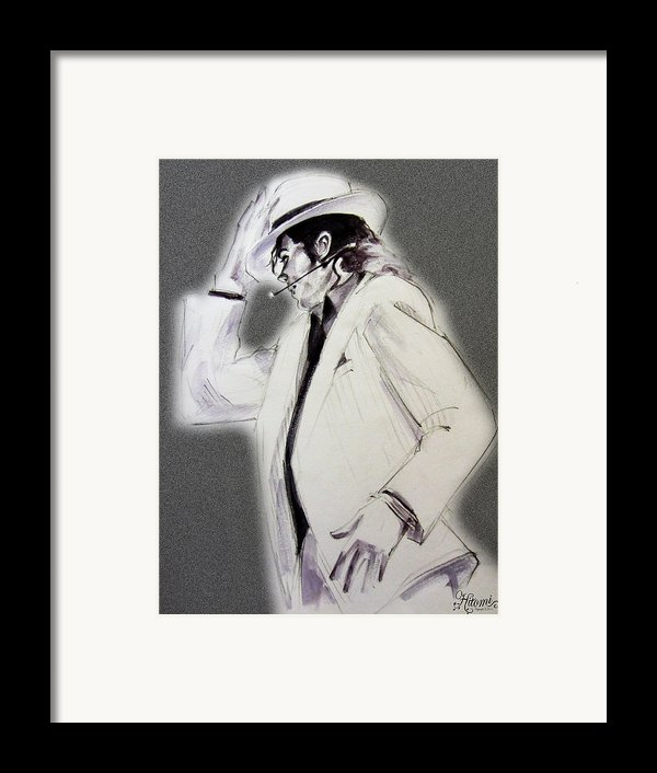 Michael Jackson - Smooth Criminal In Tii Framed Print By Hitomi Osanai