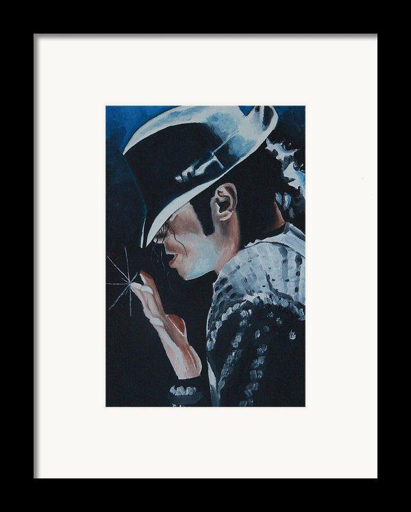 Michael Jackson Framed Print By Mikayla Henderson