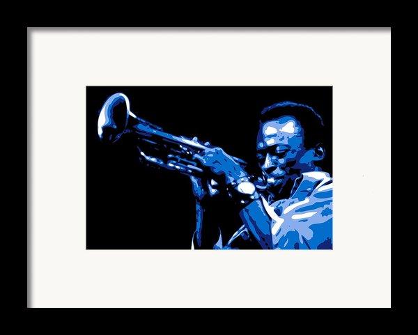 Miles Davis Framed Print By Db Artist