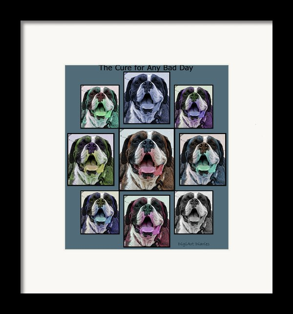 Miles Of Smiles Framed Print By Digiart Diaries By Vicky B Fuller