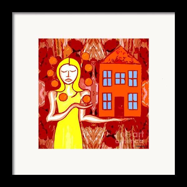 Modern Woman Framed Print By Patrick J Murphy