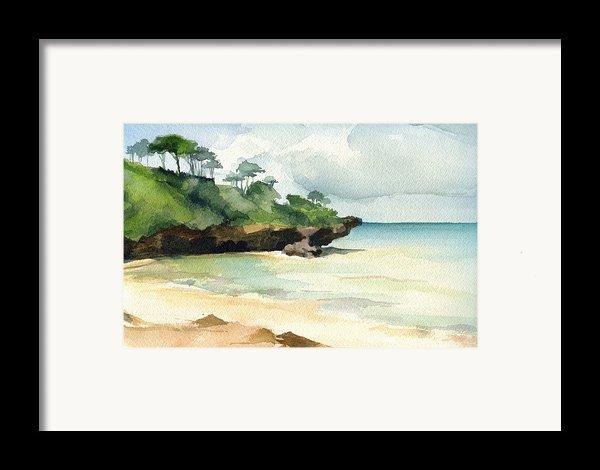 Mombasa Beach Framed Print By Stephanie Aarons