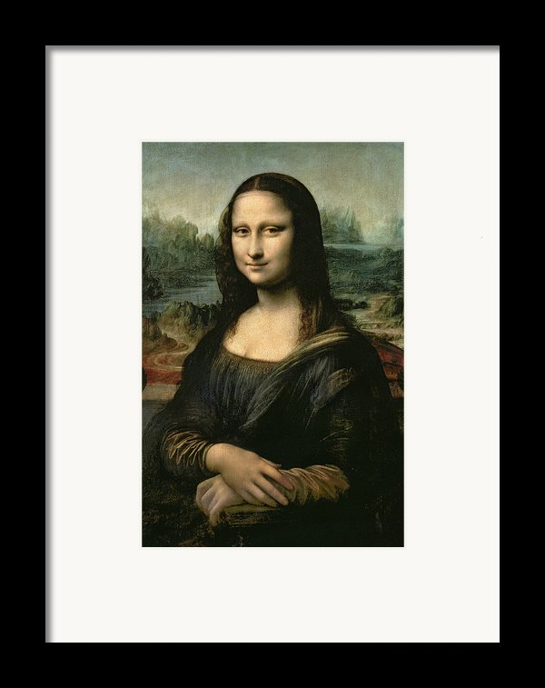 Mona Lisa Framed Print By Leonardo Da Vinci