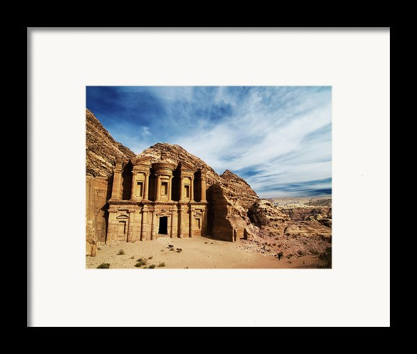 Monastery Framed Print By Julian Kaesler