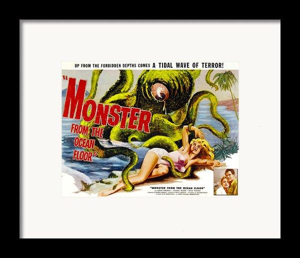 Monster From The Ocean Floor, Anne Framed Print By Everett