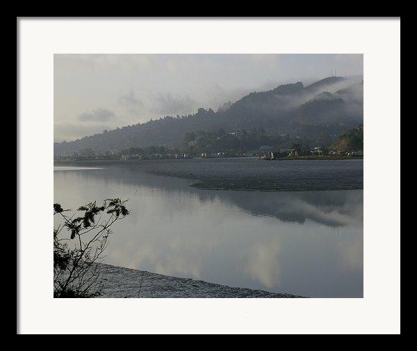 Morning Fog Framed Print By Vari Buendia