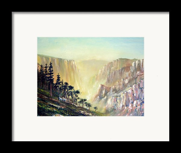 Mountain Of The Horses 1989 Framed Print By Wingsdomain Art And Photography