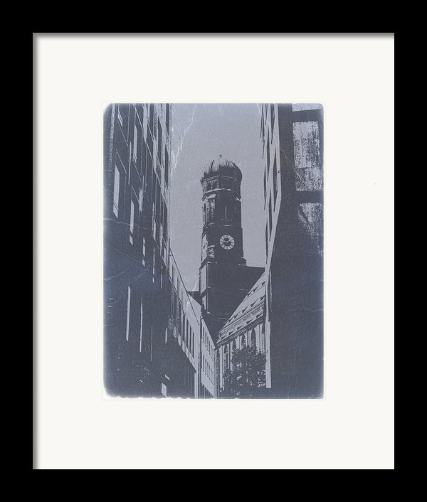 Munich Frauenkirche Framed Print By Naxart Studio