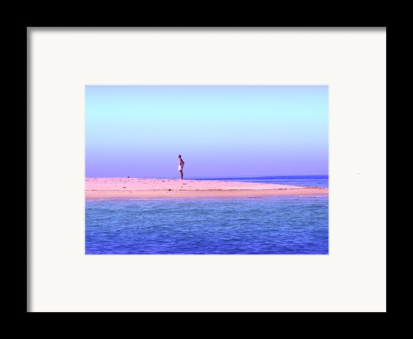 My Island Home Framed Print By Holly Kempe