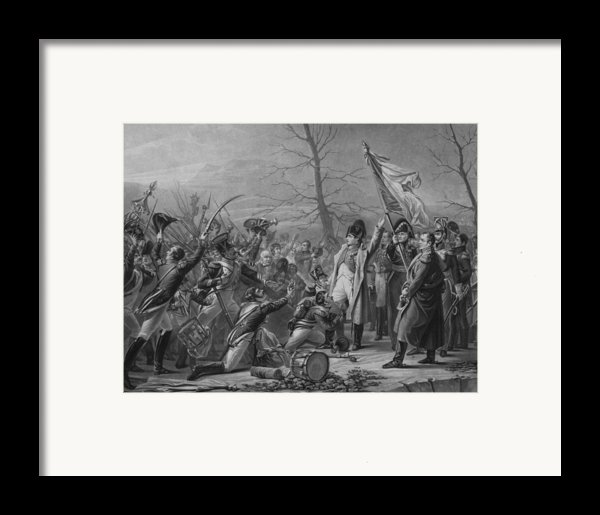 Napoleon Returns From Elba Framed Print By War Is Hell Store