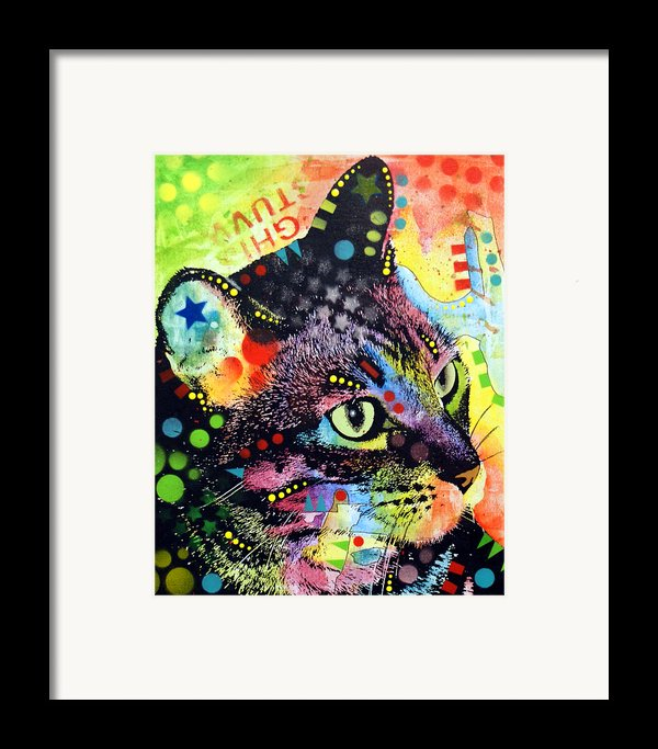 Nappy Cat Framed Print By Dean Russo