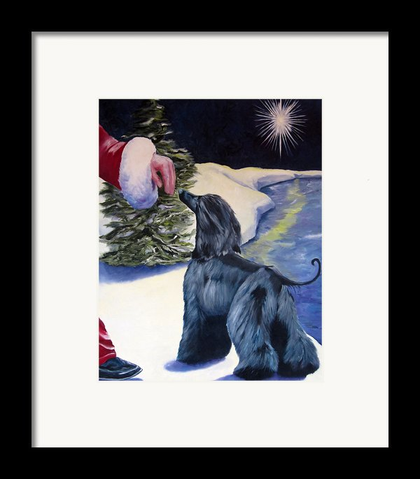 Night Before Xmas Framed Print By Terry  Chacon
