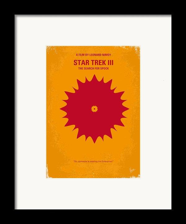 No083 My Star Trek 3 Minimal Movie Poster Framed Print By Chungkong Art