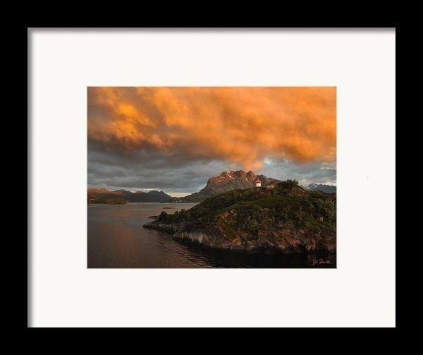 Norwegian Coast No. 6 Framed Print By Joe Bonita