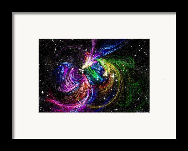 Nursery To The Stars Framed Print By Karen Musick