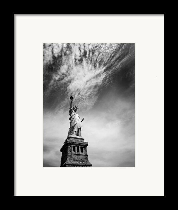 Nyc Miss Liberty Framed Print By Nina Papiorek