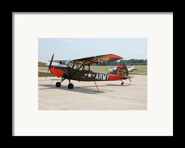 O-1 Bird Dog Framed Print By Jame Hayes